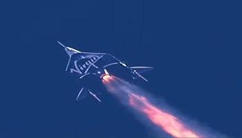 太空船二号发射