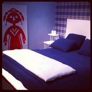 Best bedroom setting - Paola Navone's TV bed for Letti & Co @ iSaloni