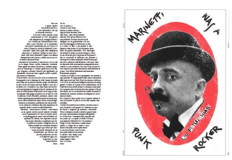 Pablo-Echaurren-Marinetti-was-a-punk-rocker-illustrato-da-Maurizio-Ceccato