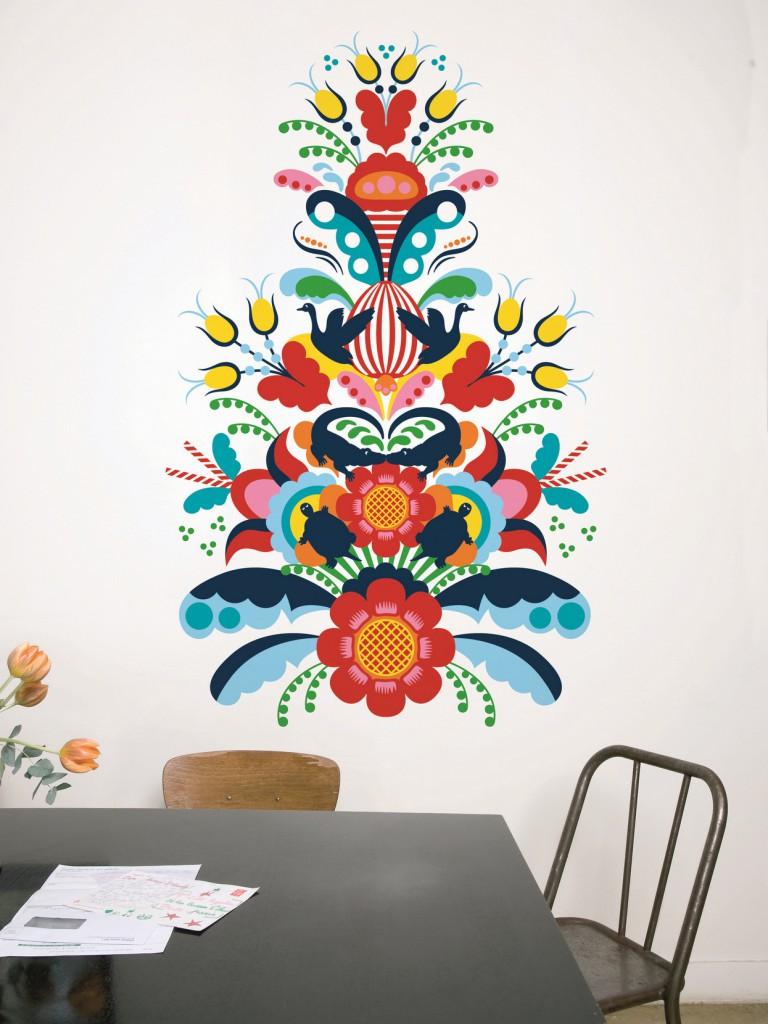 Lo sticker decorativo Crocodile Kurbits Kiss di Hanna Werning per Domestic è in vendita a 59 euro invece di 77 su Yoox.com