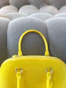 Bubble sofa fabric detail