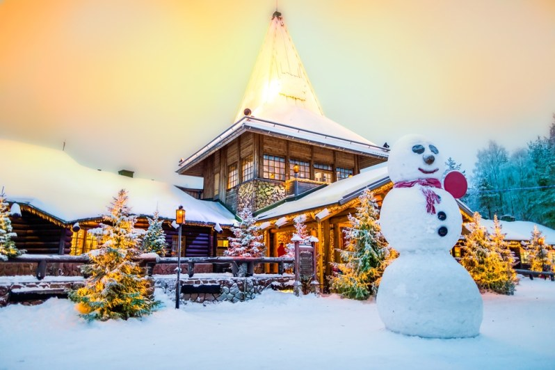 Marché de Noël de Rovaniemi