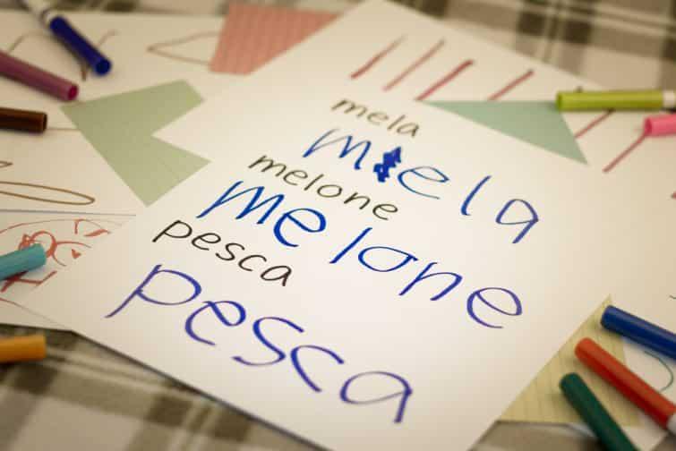 mots et phrases a apprendre en italien