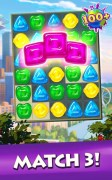 Gummy Drop! Match to restore and build cities