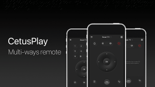 CetusPlay - TV Remote Server Receiver
