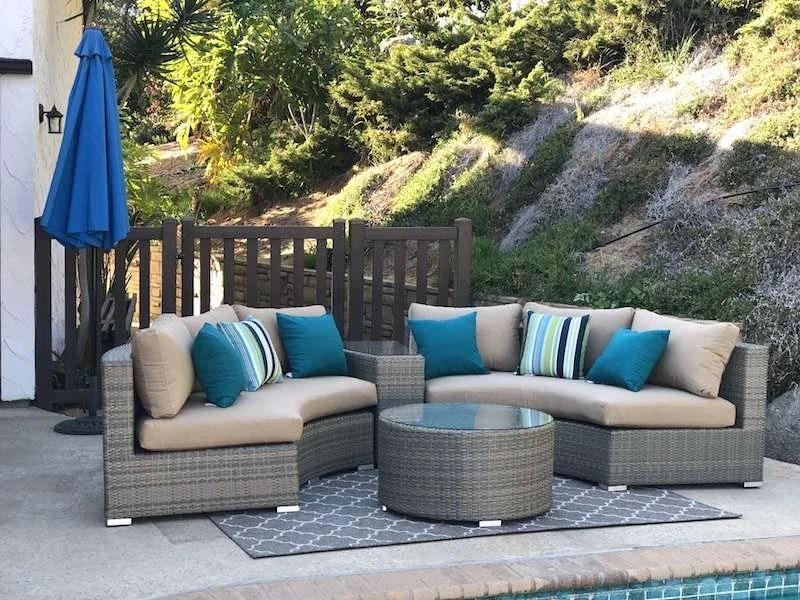 round patio furniture