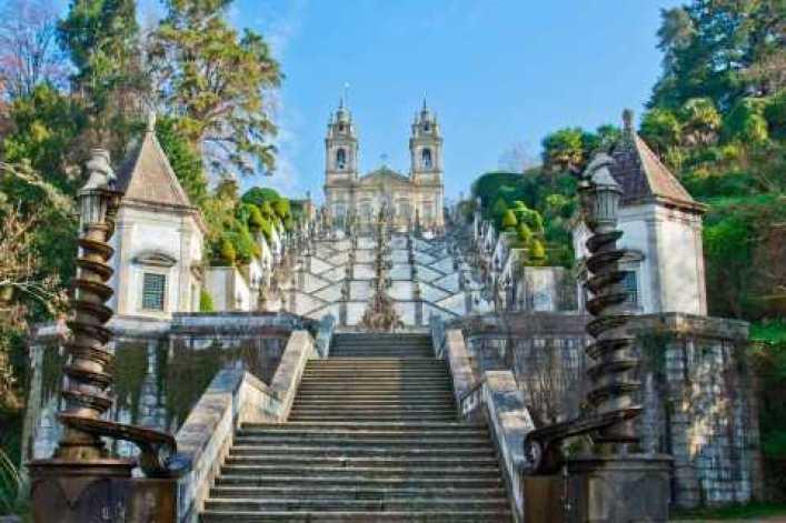 desde Oporto día completo Braga y Guimarães