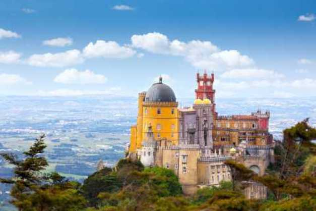 Sintra entrada sin colas al palacio y al Parque Da Pena
