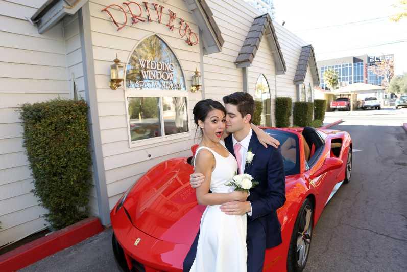 Las Vegas Elvis Wedding Chapel High Resolution Stock Photography