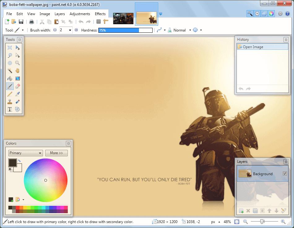 Resultado de imagen de Paint.NET 4