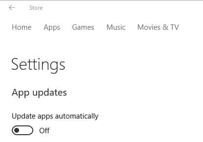 app automatic updates