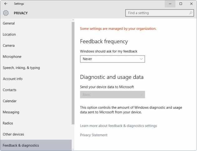 feedback telemetry basic