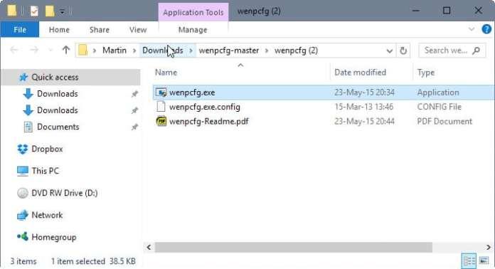 remove file explorer sidebar links