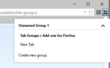 firefox tab groups addon