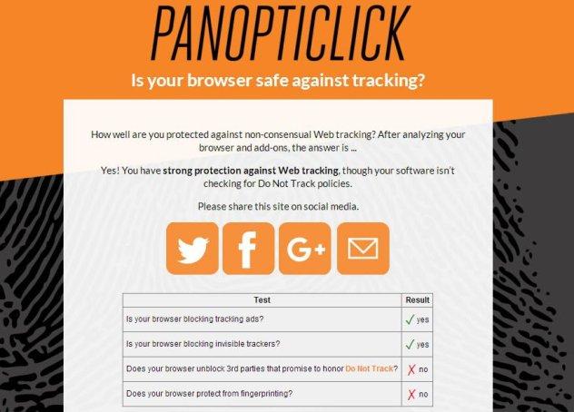 panopticlick 2.0