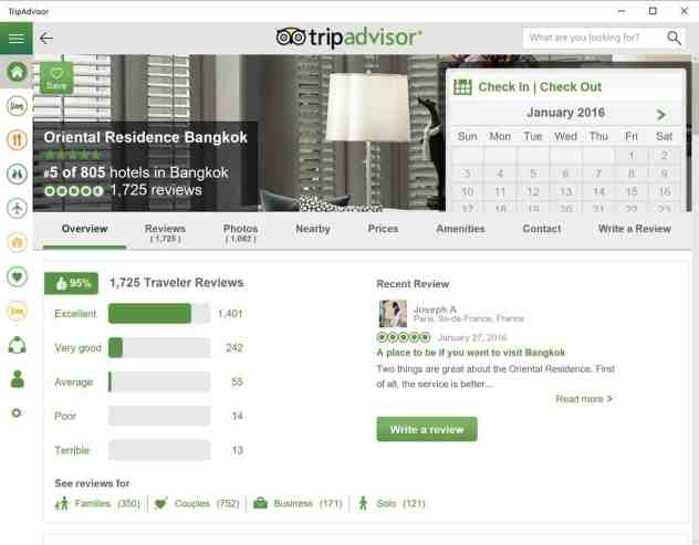 tripadvisor windows