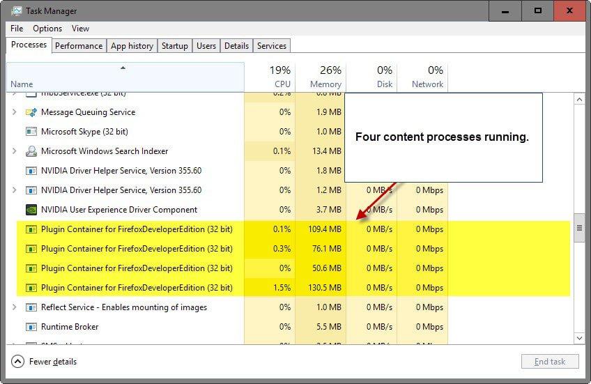 Cara mengatasi multi process pada Mozila Firefox
