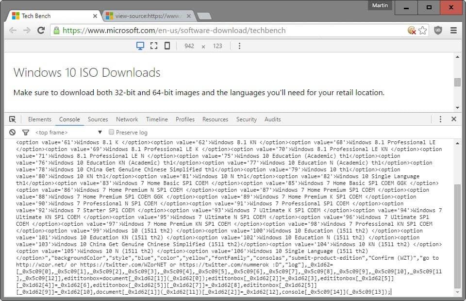 Cara Download Windows 7 dan 8 ISO Images dari Microsoft
