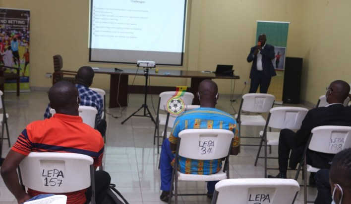 GFA holds Safety and Security workshop for Premier League clubs ahead of new season