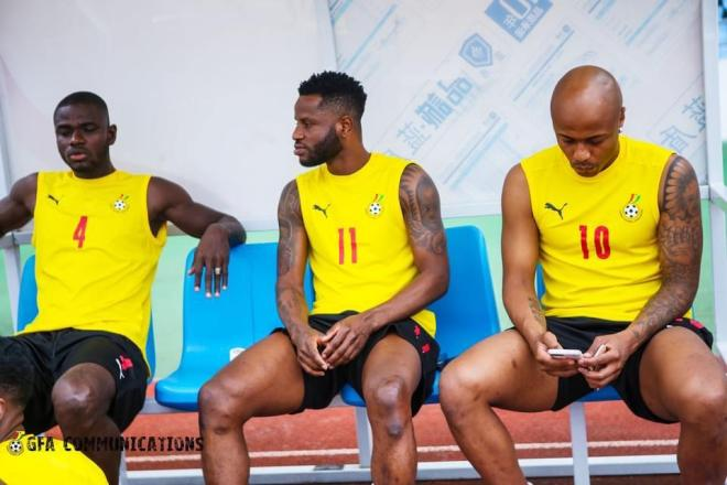2022 World Cup Qualifiers: Black Stars hold first training session in Cape Coast ahead of Ethiopia clash