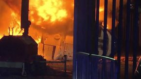 Image result for Leicester City owner's helicopter crashes in ball of flames