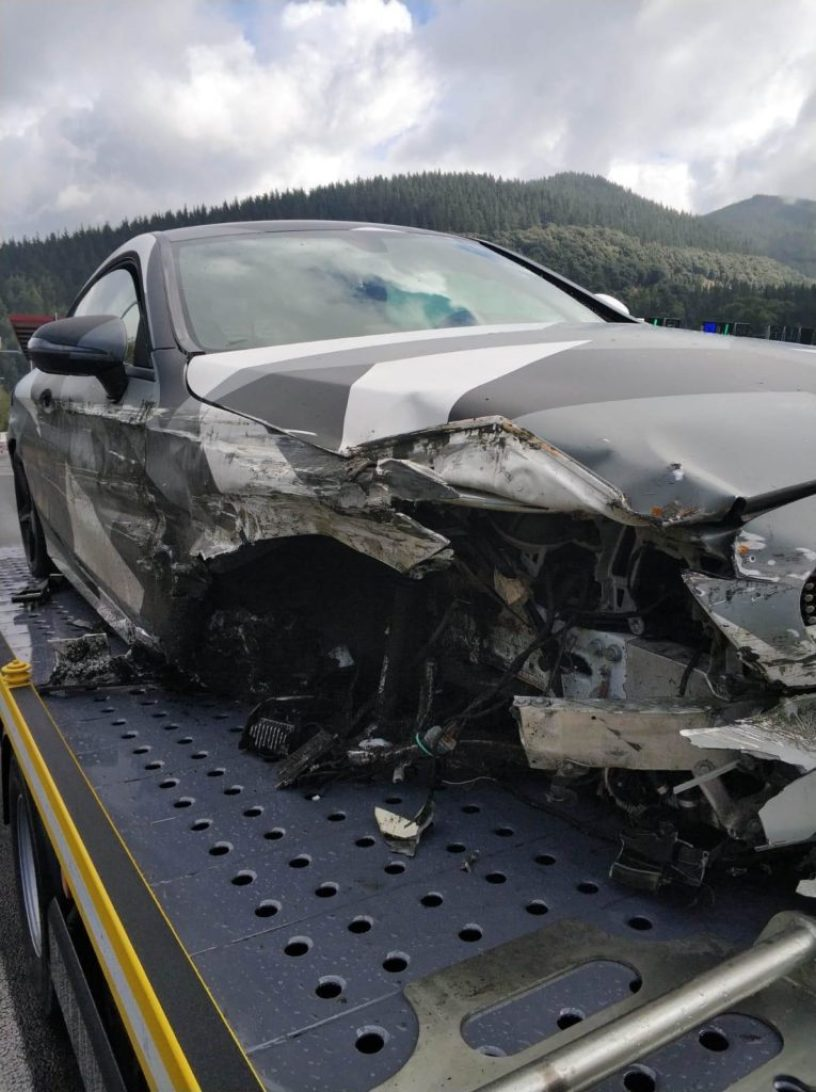 Image result for mubarak wakaso car accident