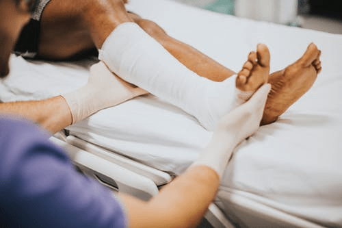 Running causes some injuries to sportsmen