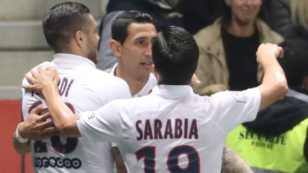 Nice 1-4 Paris St-Germain: Angel di Maria scores twice for PSG