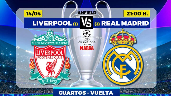 Liverpool vs Real Madrid: The chance to conquer Anfield ...
