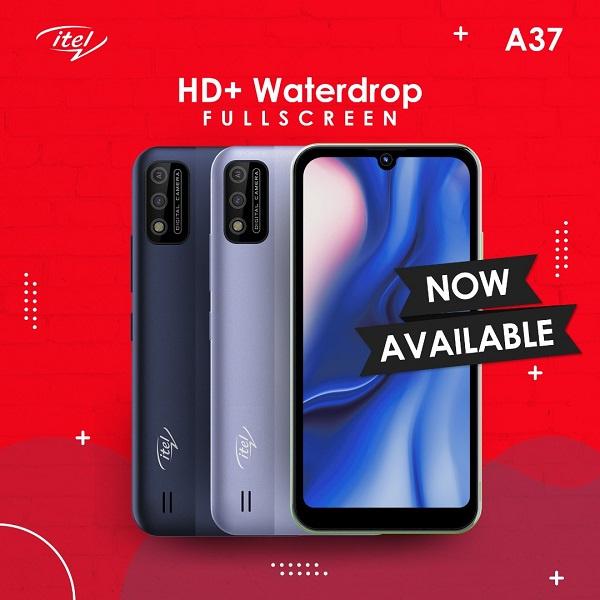 itel A37 : HD+ Waterdrop fullscreen (Your best choice)