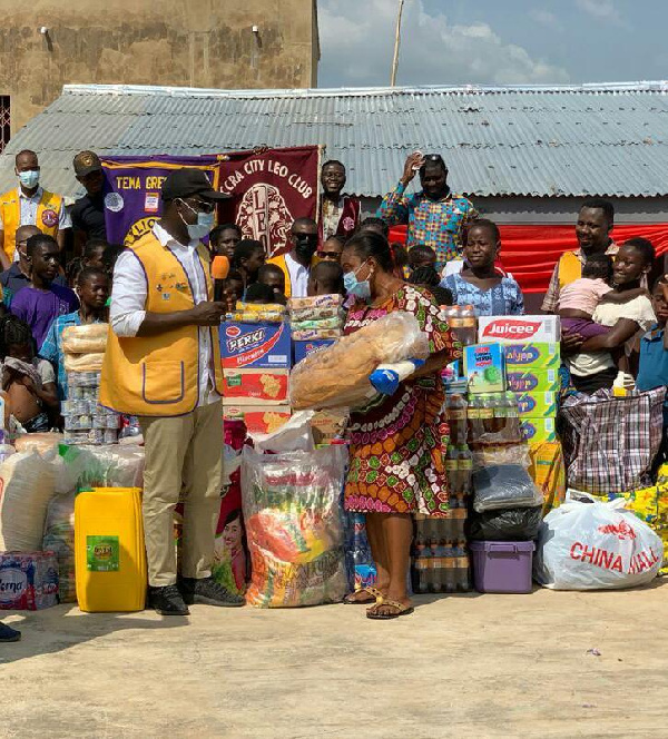 Lions Clubs in Ghana donate to Weep Not Child Orphanage
