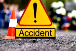 A photo of an accident scene