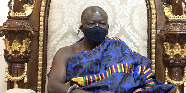 Asantehene urges women to gather courage and assume leadership role