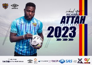 Hearts of Oak Goalkeeper, Richard Attah