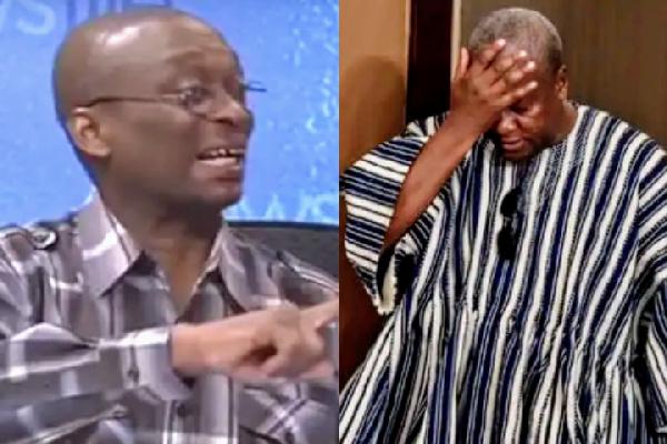 Your \'takashi\' debate with Akufo-Addo won\'t happen - Kweku Baako tells Mahama