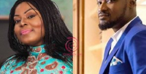 TV presenter Maame Yeboah Asiedu and Comedian Funny Face