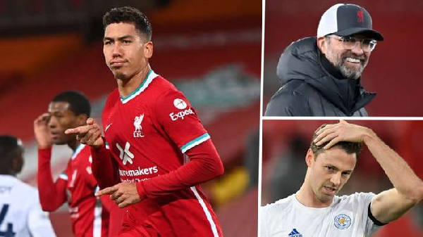 Injury-hit Liverpool send huge title-race statement