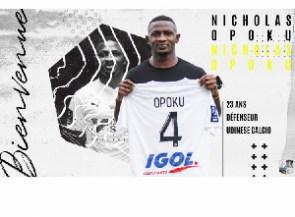 Ghana international Nicholas Opoku