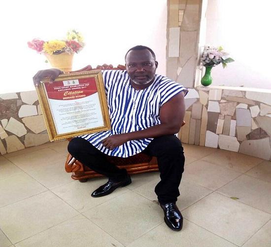 KNUST's NUGS honours actor Bernard Nyarko | Photos