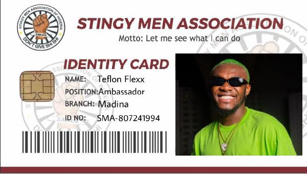 Ghanaian singer Teflon Flexx