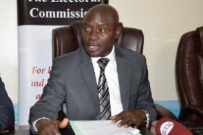 Justice Simon Byabakama, Chairperson of the Electoral Commission