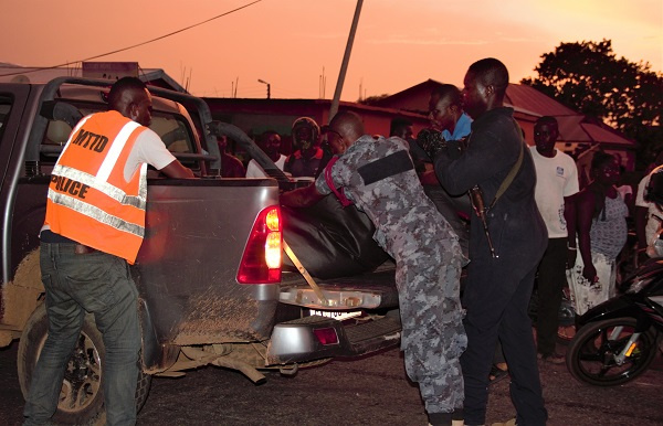 VIP bus runs over two friends in Navrongo 1