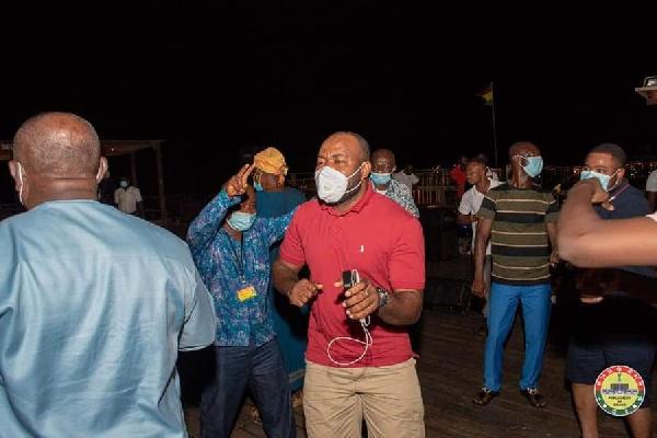 Photos: MPs defy Akufo-Addo's directive to organise a party at Aqua Safari 3