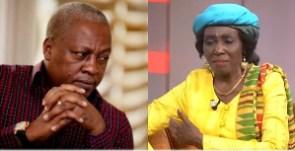 Paul Adom-Otchere says Mrs Rawlings may use the demise of her husband against Mahama