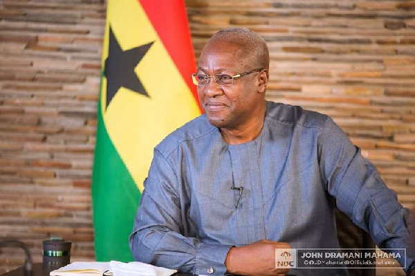 Mahama repeats pledge to free jailed illegal miners