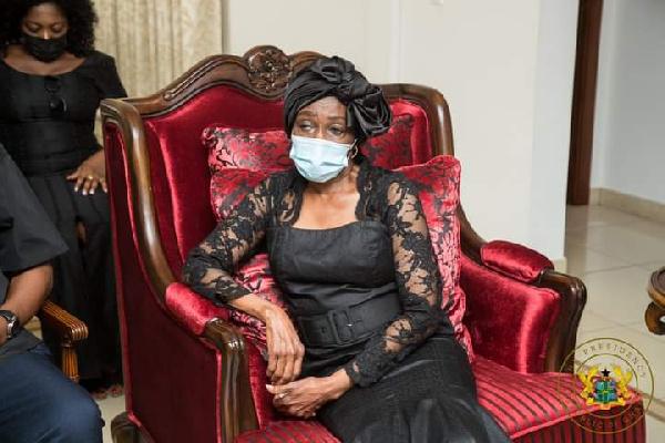 Nana Konadu missing at NDC vigil for Jerry Rawlings