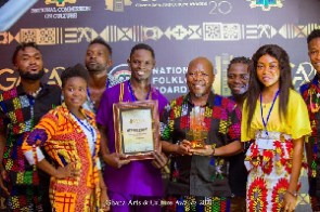 Some winners of the 2020 Ghana Arts and Culture Awards