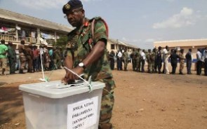 The EC has denied the allegation that security personnel cannot find their names