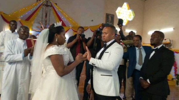 The Arusha even was the third ceremony the couple had held