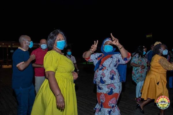 Photos: MPs defy Akufo-Addo's directive to organise a party at Aqua Safari 12